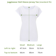 Load image into Gallery viewer, I Touch My Elf Rolled Sleeve Jersey Tee - WOMEN