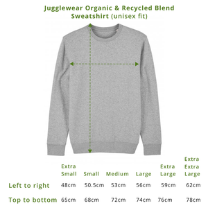 So Yeah Sage Earth Friendly Sweatshirt (limited number in stock!)
