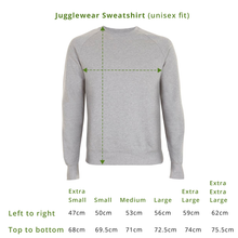Load image into Gallery viewer, And? Black Organic Sweatshirt (bestseller!)