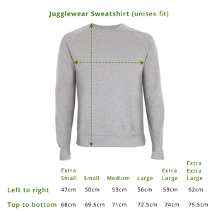 And? Black Organic Sweatshirt (bestseller!)