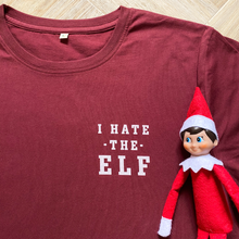 Load image into Gallery viewer, I Hate the Elf Organic Tee - MEN