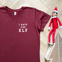 Load image into Gallery viewer, I Hate the Elf Organic Tee - WOMEN