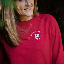 Load image into Gallery viewer, You Had Me at Tea 100% Recycled Sweatshirt - UNISEX