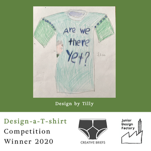 EXCLUSIVE Competition Winner Are We There Yet Organic Tee - KIDS