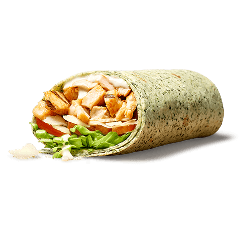Chicken Ceasar wrap