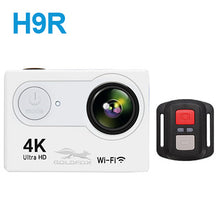"Load image into Gallery viewer, H9R Action Camera Ultra HD 4K / 25fps WiFi 2.0"" 170D Underwater Camera Go Waterproof Pro Helmet Sport Cam for Riding Climbing"