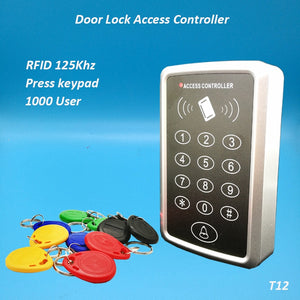 Free Shipping 125Khz Rfid Access Control System Card Door Lock Controller Keypad Door Access Controller