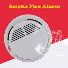 Load image into Gallery viewer, 85dB Smokehouse Fire Protection Sensor Alarm rookmelder Photoelectric Cordless Smoke Detector Home Hotel Security Equipment