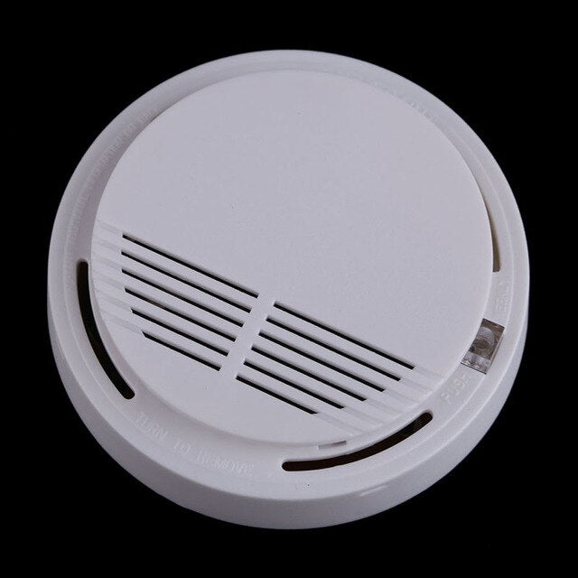 85dB Smokehouse Fire Protection Sensor Alarm rookmelder Photoelectric Cordless Smoke Detector Home Hotel Security Equipment
