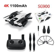 Load image into Gallery viewer, SG900S Ultra HD 1080P Foldable 4K GPS RC Drone Wifi FPV Wide-Angle Camera Long Battery Life Camera Drones GPS Camera
