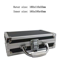 Load image into Gallery viewer, Portable Aluminum Tool Box Safety equipment Toolbox Instrument box Storage Case Suitcase Impact Resistant Case With Sponge