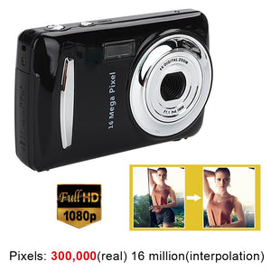 Ultra Photo Camera 16MP Ultra-clear HD Digital Camera DVR 1080P Mini HD Camera Precise Video Recorder Camera DVR Black