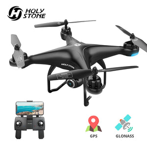 Holy Stone HS120D GPS RC Drone Profesional FPV 1080P HD Camera Drones Follow Me GPS Glonass Quadrocopter Wifi RC Helicopter