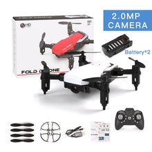 Load image into Gallery viewer, Mini Camera Drones Quadcopter RC Helicopters LF606 Mini Wifi Remote Control Flips Foldable with Camera Hd Indoor Outdoor