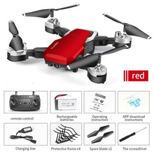 Load image into Gallery viewer, HJ28 Foldable RC Drone 4 Channels Wifi 2MP/5MP FPV Camera Drone Altitude Hold Gesture Photo/Video RC Quadcopter
