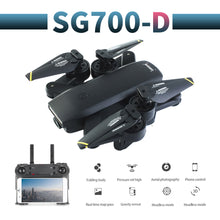 Load image into Gallery viewer, SG700-D profissional camera drone 720p/1080p 4k HD WiFi  FPV Brush motor propeller Long Battery air RC dron Quadcopter