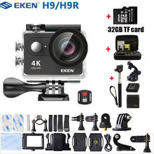 Load image into Gallery viewer, EKEN Action Camera H9 H9R Ultra HD 4K WiFi Remote Control 1080p/60fps Mini Helmet Camcorder go Waterproof pro Sports Camera