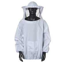Load image into Gallery viewer, Durable Beekeeping Jacket Veil Smock Equipment Supplies Bee Keeping Hat Sleeve Suit High-quality Cotton