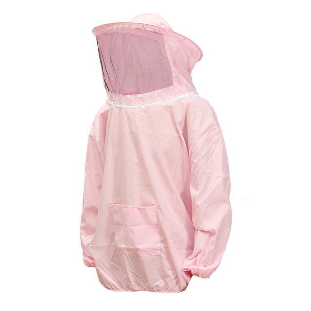 Durable Beekeeping Jacket Veil Smock Equipment Supplies Bee Keeping Hat Sleeve Suit High-quality Cotton