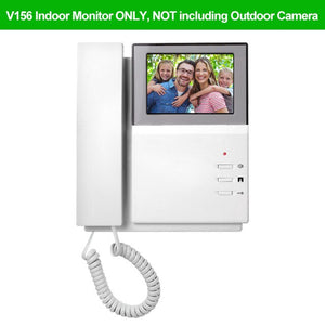 OBO 4.3inch TFT-LCD Color Video Door Phone Doorbell Intercom System Indoor Monitor Screen Video Doorphone for Home 25 Ringtone