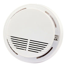 Load image into Gallery viewer, Stand Alone Smoke Detector DC9V Fire Smoke Sensor Alarm Sensitive Photoelectric Security Fire Protection Anti-fire Home Alarm