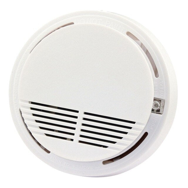 Stand Alone Smoke Detector DC9V Fire Smoke Sensor Alarm Sensitive Photoelectric Security Fire Protection Anti-fire Home Alarm