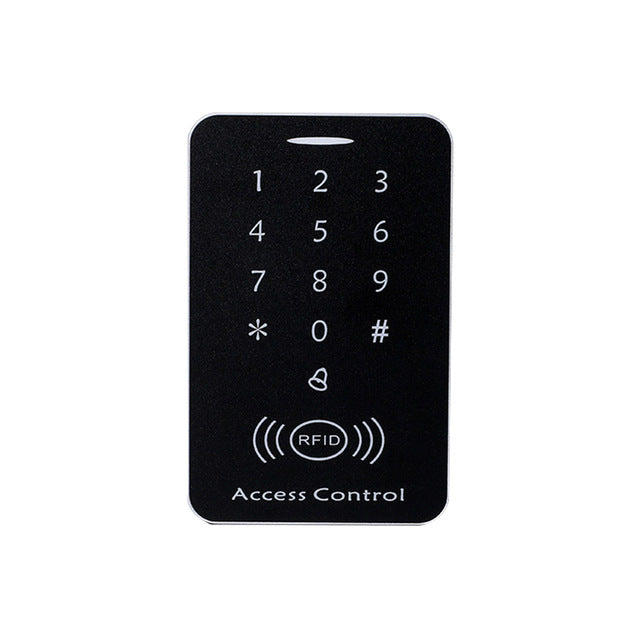 125KHz RFID Access Control System Security ID Card Password Door Lock 10 Keyfobs