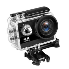 Load image into Gallery viewer, 4K Action Camera Ultra HD 4K 60fps 24MP Wifi Sport Camera 2.0'' IPS Screen 170D Wide Angel Go Waterproof Pro Sports Video Camera