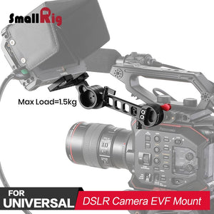 SmallRig DSLR Camera Photo Accessories EVF Mount with NATO Clamp for Zacuto Gratical HD, for BMVA, for SmallHD 502HD 1897