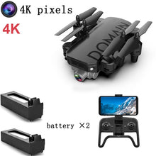 Load image into Gallery viewer, Drone 4k 720P Quadrocopter With Camera Mini Drone Camera Drones With Camera Hd Wifi Dron Selfie Profesionales Black Kids Toys
