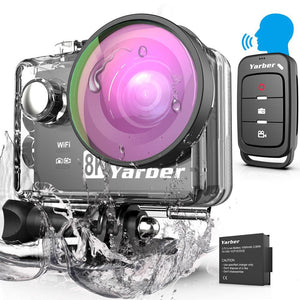 "Action Camera Ultra HD 8K WiFi 2.0"" Underwater Waterproof Helmet 20MP Sports Record Video Recording Cameras New Sport Cam"