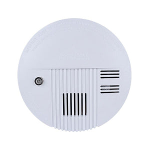 Plastic Housing Cordless Standalone Smoke Detector Smoke Alarm110V-220V With Dustproof Home Security Alarm