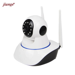 jiange Mini Cloud Storage IP Camera 720P HD WiFi Video Surveillance Camera Suit for Three Room and Two Halls 5 Items in 1 Parcel