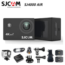 "Load image into Gallery viewer, SJCAM SJ4000 AIR Action Camera Full HD Allwinner 4K 30fps WIFI 2.0"" Screen Mini 170D underwater Waterproof Sports DV Camera"