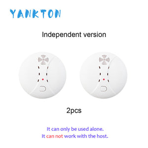433MHz Wireless Smoke Detector Fire Smoke Sensor For Home Security Alarm System Alarm Accessories Smoke Grenade  Fire Equipment