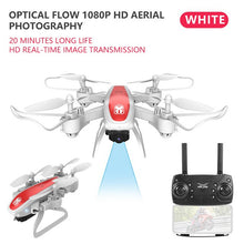 Load image into Gallery viewer, KY909 4K HD Camera Drone FPV WIFI Optical Flow Positioning RC Quadcopter Plane Folded Altitude Hold Long Battery Life Kids Toys