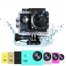 Load image into Gallery viewer, HD Action Camera Waterproof Camera 2.0 Inch motorcycle helmet camera HD Extreme Sports DV Camera Novice Accessories