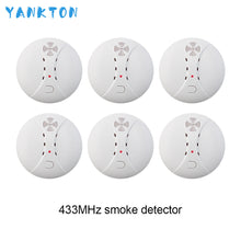 Load image into Gallery viewer, 433MHz Wireless Smoke Detector Fire Smoke Sensor For Home Security Alarm System Alarm Accessories Smoke Grenade  Fire Equipment