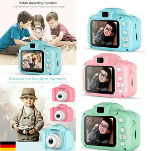 Cute DC500 Mini Digital Camera for Kids Baby Video Child Recorder Xmas Gift