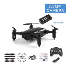 Load image into Gallery viewer, LF606 Quadrocopter Mini Drone With 720P Camera FPV Profesional HD Foldable Camera Drones Altitude Hold Children ChristmsToy