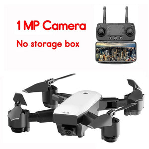 WIFI FPV Camera Drone With 110 Degree Wide Angle 1080P Camera 2.4G Altitude Hold RC Quadcopter Remote Control Helicopter Model