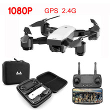 Load image into Gallery viewer, WIFI FPV Camera Drone With 110 Degree Wide Angle 1080P Camera 2.4G Altitude Hold RC Quadcopter Remote Control Helicopter Model