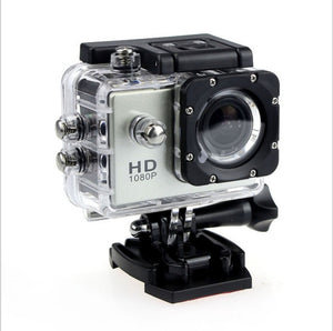 Action Camera Underwater Outdoor Sport Mini Camera Waterproof Cam Screen Color Water Resistant Video Surveillance