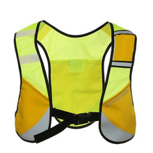 Load image into Gallery viewer, Multifunction Reflective Vest High Visibility Reflective Vest Security Equipment Night Tops for Marathoner Running Race Cycling