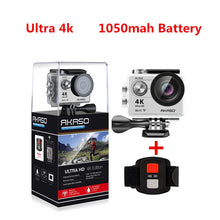 Load image into Gallery viewer, AKASO EK7000 / EK5000 4K WIFI Outdoor Action Camera Video Extreme Sports helm Ultra HD Diving Waterproof  12MP 170 Wide Angle