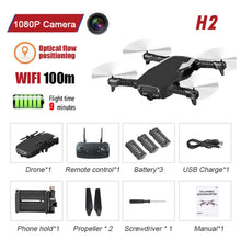 Load image into Gallery viewer, FPV WIFI 720P Camera Drone With Camera HD RC Quadrocopter Helicopter Selfie Drone Professional Drone Toy for 14years Child Kid