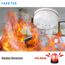 Load image into Gallery viewer, Home Security Wireless Alarm Smoke Detector For Home Security Alarm System Sensor High Quality Independent Alarm Smoke Detector