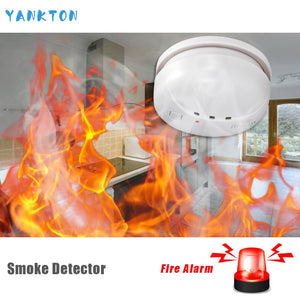Home Security Wireless Alarm Smoke Detector For Home Security Alarm System Sensor High Quality Independent Alarm Smoke Detector