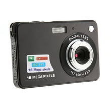 Load image into Gallery viewer, 2.7-inch Ultra-thin 18 Million Pixels Hd Digital Camera Children's Camera Video Camera Digital Students Cameras kamera fotografi