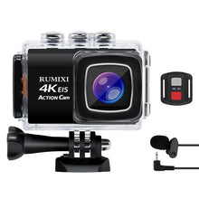 Load image into Gallery viewer, Ultra 4K Sports Action Camera with EIS Function Remote Controller Underwater Waterproof 30M Video Record Cam with Accessories